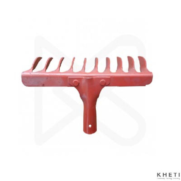 Falcon FGR-10 Steel 10-Teeth Garden Rake_KJ (pink)