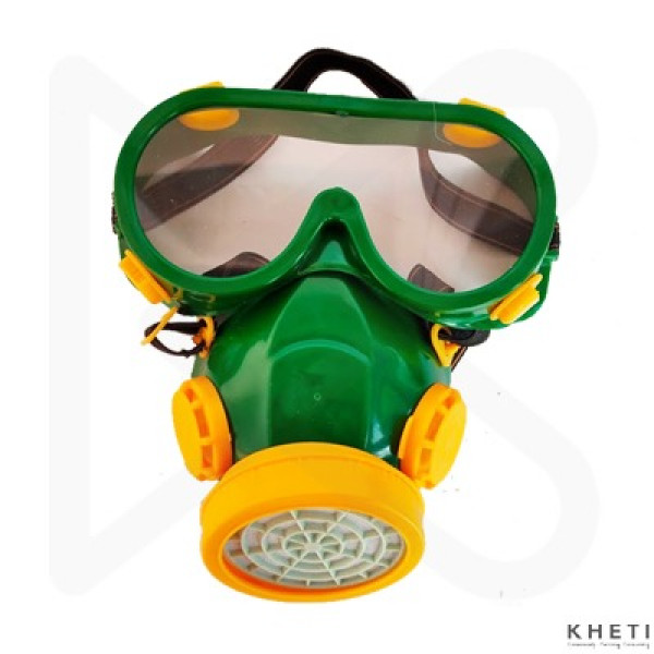 Safety Goggle with Mask 2 in 1