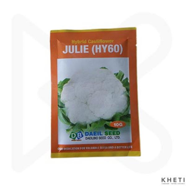 F1 Hybrid Cauliflower_Julie_SN (Fulkopi ko biu)
